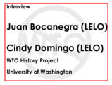 Interview with Juan Bocanegra and Cindy Domingo