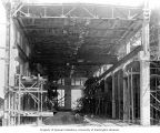 Interior of partially completed powerhouse, July 5, 1911