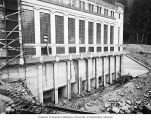 Tailrace site, Gorge Dam Powerhouse, April 1, 1924