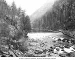 Gorge Dam on the Skagit River, January 12, 1926