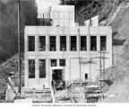 South side of powerhouse, nearly complete, September 21, 1925