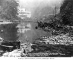 Powerhouse after dam completion, October 20, 1925