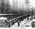 Completed section of flume, November 16, 1903