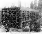 Construction of powerhouse, May 30, 1911