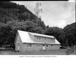 Pansey House, a bunkhouse in Newhalem still used by Seattle City Light to house temporary...