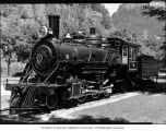 Old Number Six, the steam locomotive used by Seattle City Light on their tourist railroad from...