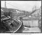 Masonry Dam under construction, October 16, 1913