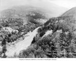 Site of Ruby Dam and reservoir on the Skagit River, ca. 1919