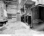 Tacoma substation interior showing transformers, October 21, 1904