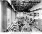Partially completed powerhouse interior, August 31, 1911