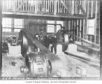 Interior of the Cedar Falls Power House, October 17, 1912