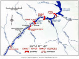 Map of Seattle City Light Skagit River Power Sources