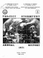Project Stormfury Annual Report, 1971