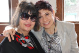 Michelle Habell-Pallan and Angela Vogel, Women Who Rock 2012 Conference, Washington Hall, March...