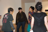 Alice Bag, Mako Fitts, Kristina Clark, and Carrie Lanza at the fandango celebration, Women Who...