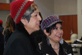 Alice Bag and Michelle Habell-Pallan, Women Who Rock 2011 conference, Seattle University Pigott...