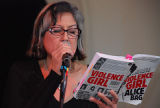 Alice Bag reads from Violence Girl, No. 1,  Women Who Rock 2012 Conference, Washington Hall, March...