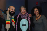Gabriel Teodros, Chola Con Cello and conference participant, Women Who Rock 2011 conference,...