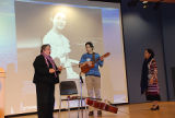 Chola Con Cello, Quetzal Flores, and Martha Gonzalez, keynote session, No. 1, Women Who Rock 2011...