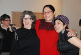 Sherrie Tucker, Maylei Blackwell, and Michell Habell-Pallan at the fandango celebration, Women Who...