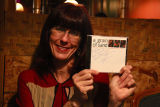 Dr. Tara McPherson with Grain of Sand CD (Nobuko's CD)