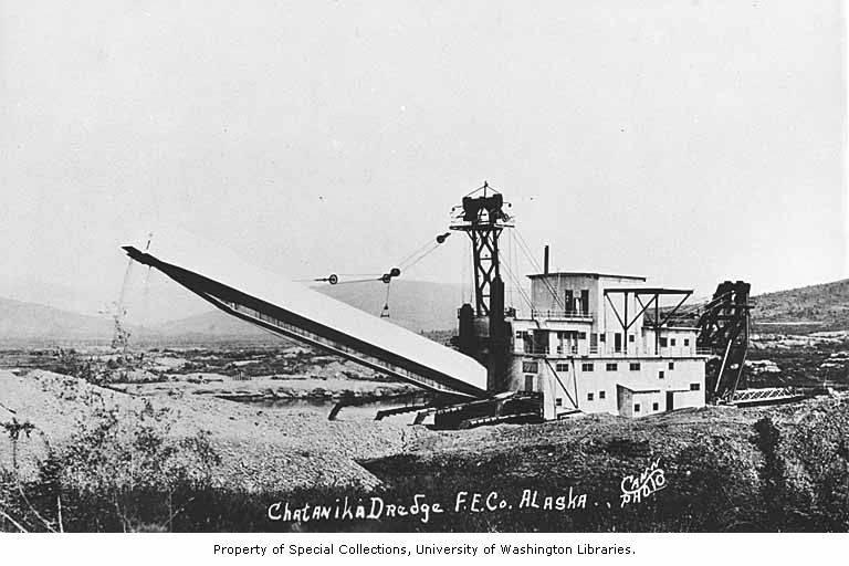 Fairbanks Exploration Company gold dredge number 3