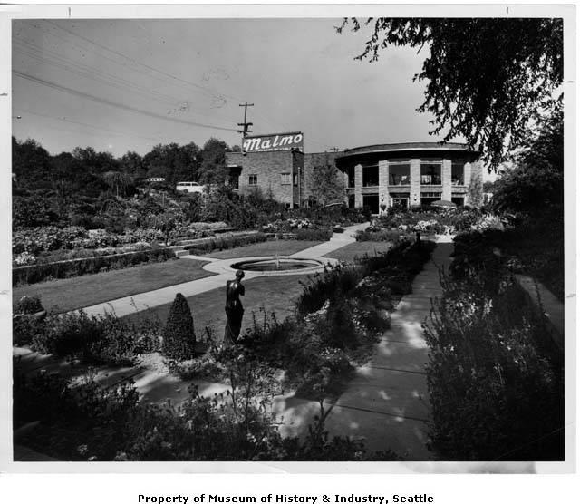 Malmo Nurseries On 25th Avenue Ne Seattle Ca 1950