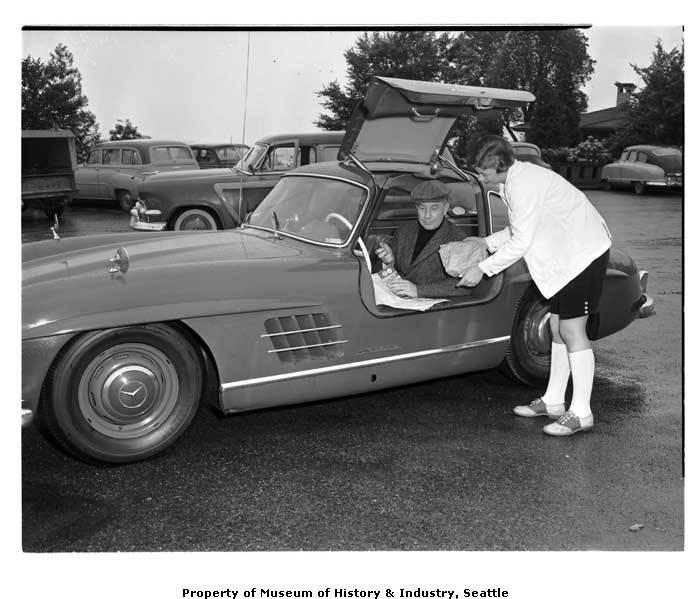 Mercedes Of Seattle >> Eddy J Franklin In Mercedes Benz Seattle June 12 1957
