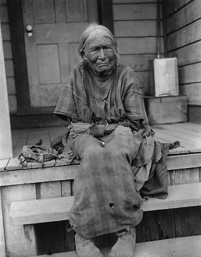 Nez Perce Woman Named Chica Ma Poo And Known As Old Jean