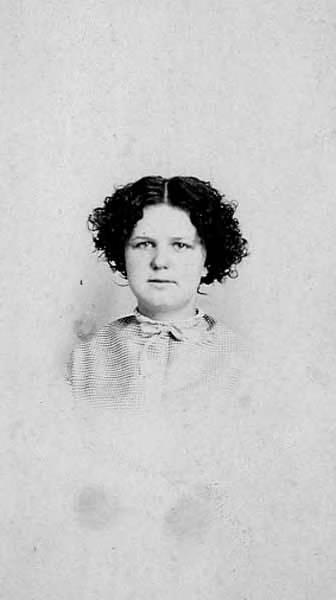Mattie Lee Jameson Carte De Visite Photograph 1867