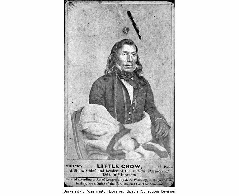 little crow spokesman for the sioux