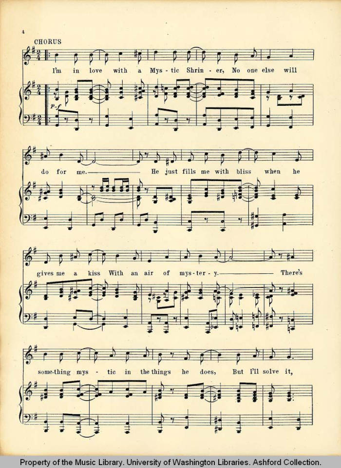 Page 4 - Pacific Northwest Sheet Music Collection