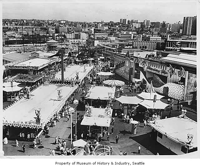 Gayway, Seattle World's Fair, 1962 - Museum of History and ...